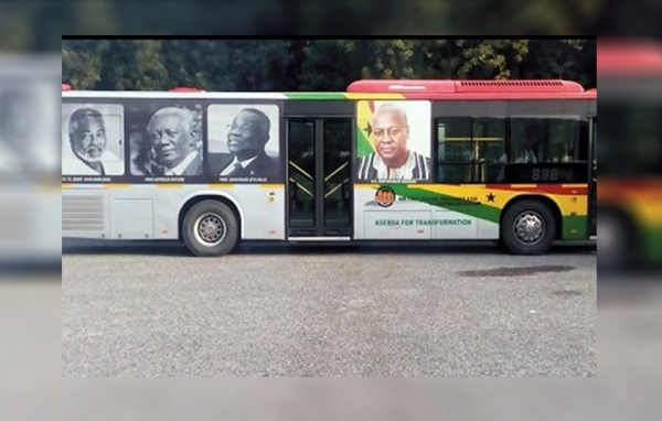 Pay full cost of the rebranded buses to advertise your flagbearer – NPP to NDC