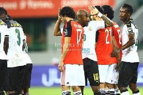 Stars lose to Egypt, face DR Congo in quarter-final.