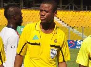 Ref Agbovi handed 8-match ban