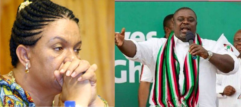 Hannah Tetteh not bigger than NDC; has no right to speak for NEC – Anyidoho
