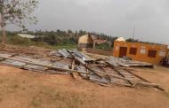 Eleven Injured during rainstorm at Akyem Asene